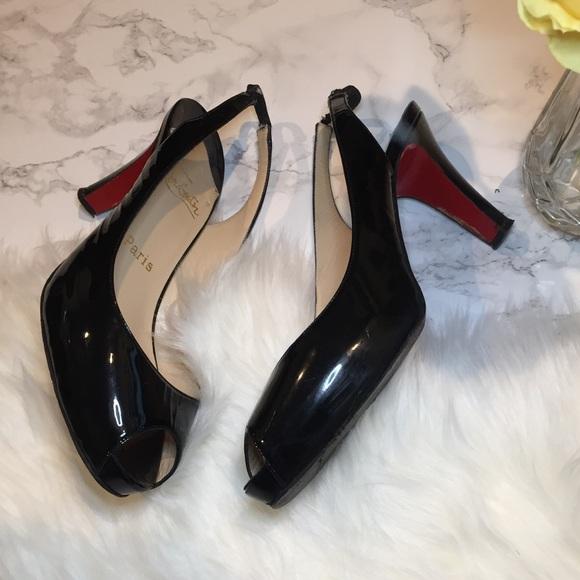 d2f8e0475871 Christian Louboutin Shoes - 🔥 Christian Louboutin Prive Sling back pumps